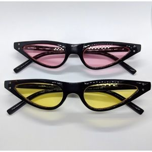 Nwt Small Frame Colored Lense Sunnies